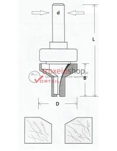 Ρούτερ μαχαίρι W15-28C