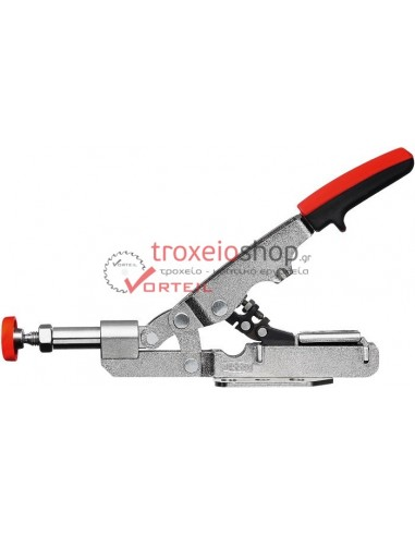 Push/pull clamp with horizontal base plate STC-IHH
