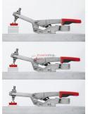 Push/pull clamp with angled base plate STC-IHA