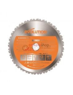 Δίσκος κοπής 255mm RAGE3 Multi Blade ξύλου, αλουμινίου, σιδήρου κ.α υλικών Evolution