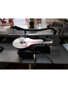 Scroll saw with flexible shaft and tool kit FOX F40-562
