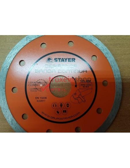 Δίσκος διαμαντέ για πλακίδια, κεραμικά, πορσελάνη CERAMICA BANDA CONTINUA STAYER