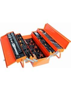 """Beta 2120L-E/T91E 1/2"""" Drive Tools in Tool Box 91-Piece"""