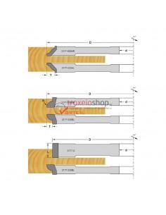 Cutterhead for door panels