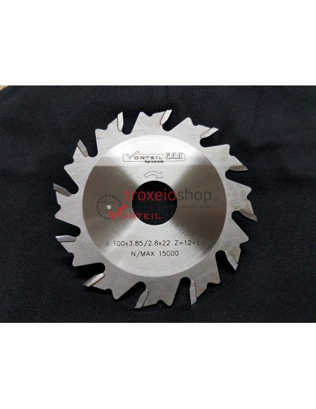Saw blade for lamelo