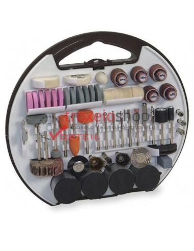 Rotary precission drill accessories set 180pcs 1.891 STAYER