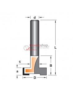 Router bit R015-007 Vorteil