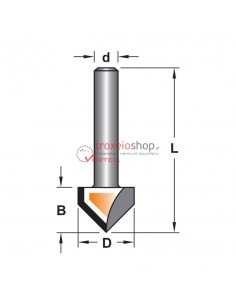 Router bit F04 45 degrees